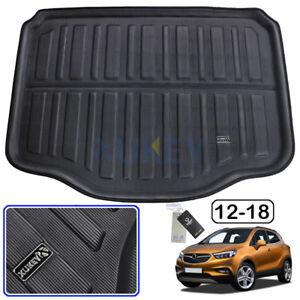 Para-Opel-Vauxhall-MOKKA-x-2013-2019-Bandeja-de-revestimiento-de-arranque-a-Medida-Alfombra-carga-de