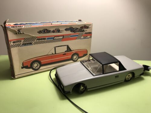 Details about  /TIN CAR VOLGA GAZ SOVIET MECHANICAL REMOTE CONTROL USSR RUSSIA 1960's WITH BOX