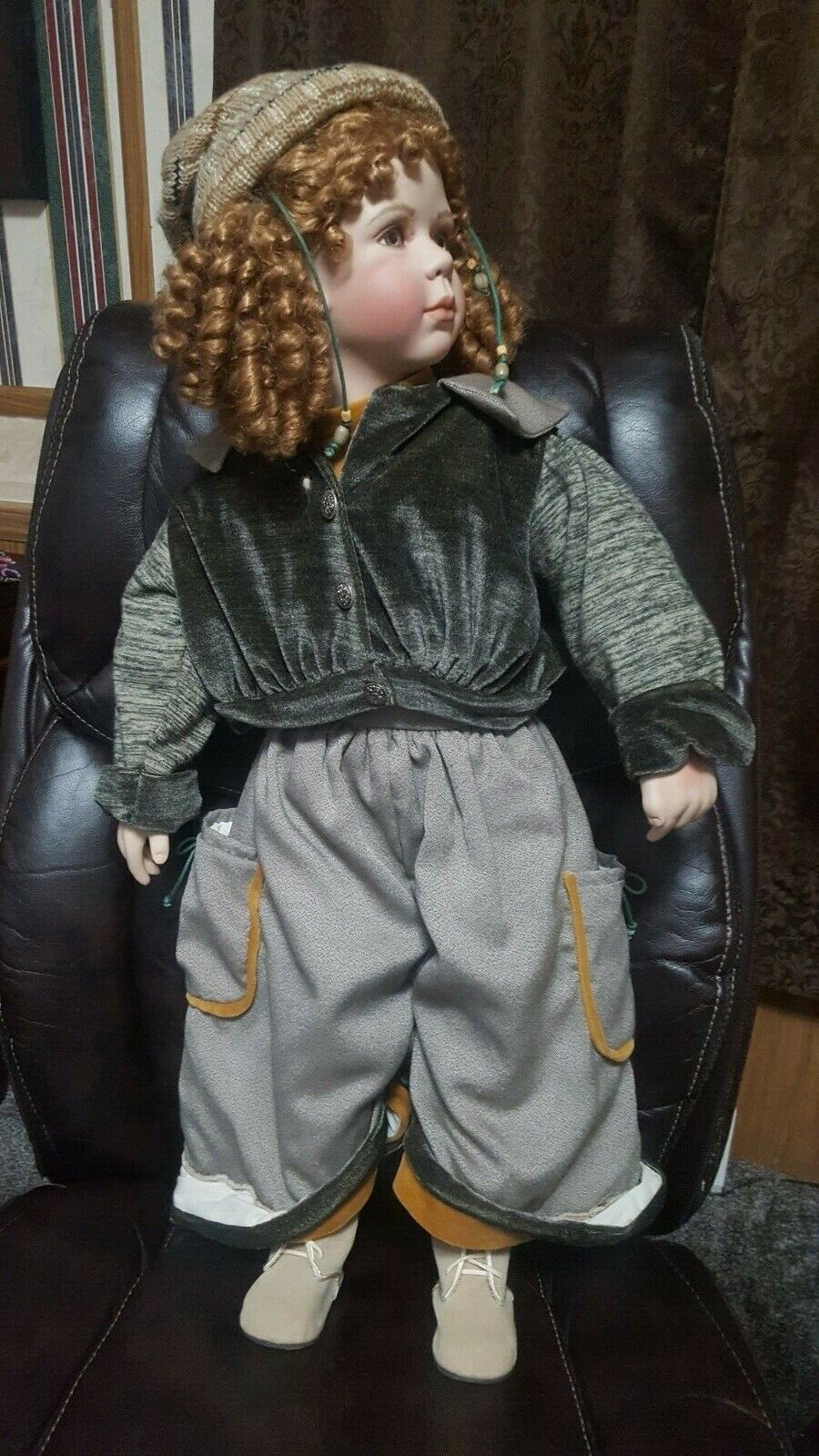 Large Vintage Victorian Porcelain Doll - Show Stoppers - EXTREMELY RARE