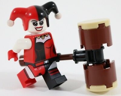 Hammer Included Harley Quinn Marvel Comics Lego Moc Minifigure Gift For Kids