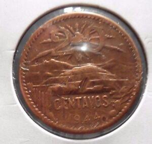 CIRCULATED 1944 20 CENTAVOS MEXICAN COIN!!  (62815)