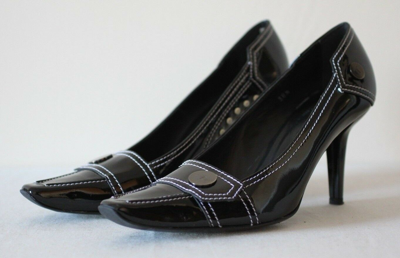 Descuento barato Tod's Black Patent Leather Heels EU 38.5