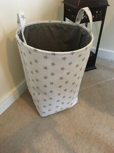 Image Is Loading S Boys Grey Star Nursery Baby Laundry Clothes