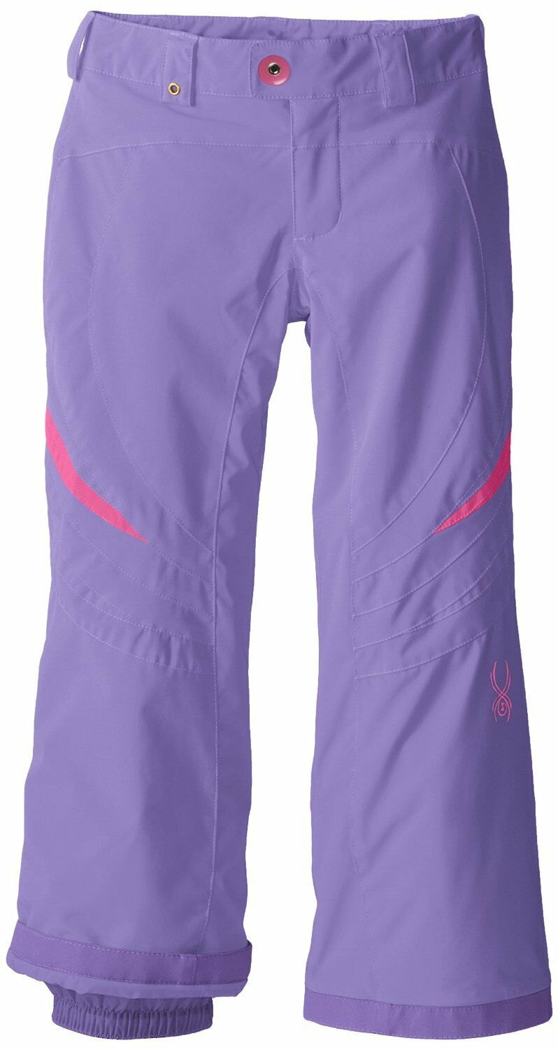 Spyder Girls Ski Snowboarding Thrill Athletic Fit Pants, Size 20 (Girl's),NWT