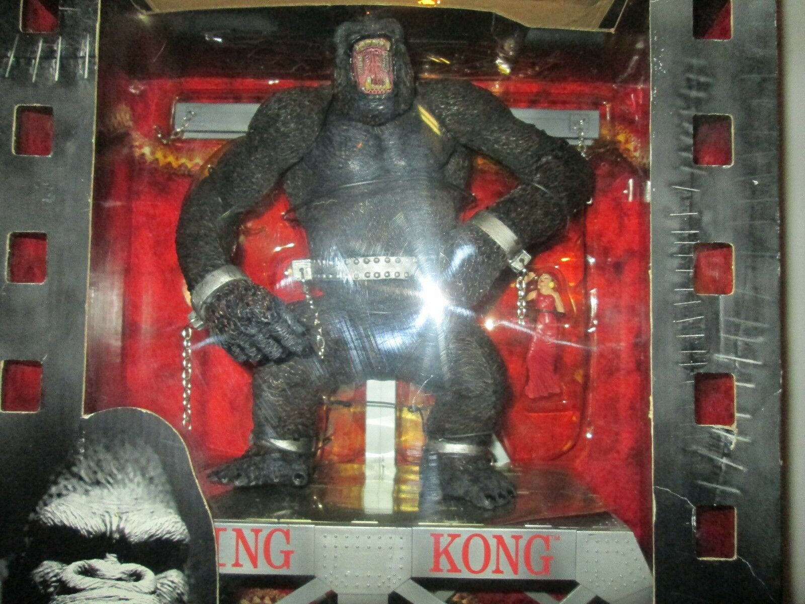 McFarlane Juguetes Movie Maniacs 3 10  King Kong Box Set Con Soporte Modelo + Puente