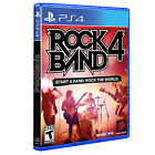 Rock Band 4 PlayStation 4 Ps4 Game Solus Pegi 12 Mad Catz Games