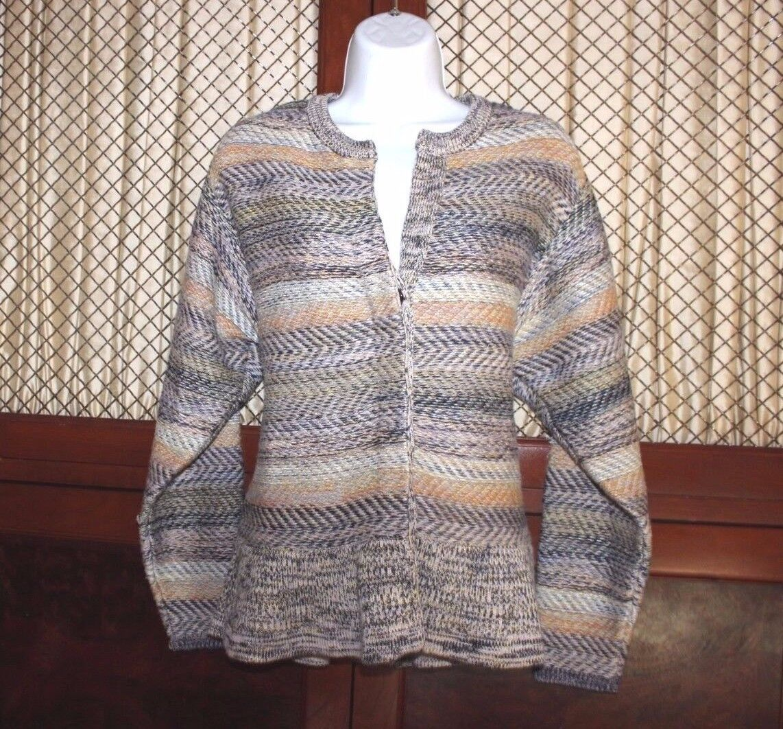 Chloe Woherren Sweater  Cashmere & Wool Blend Cardigan Größe Large