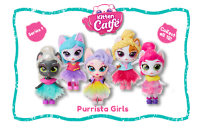 Kitten Catfe Purrista Girls Surprise Doll Series #1 NEW!