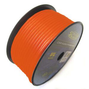 Sound Quest SQVLP18OR Sq 18 Ga Orange Primary Cca Car Audio Parts & Accessories
