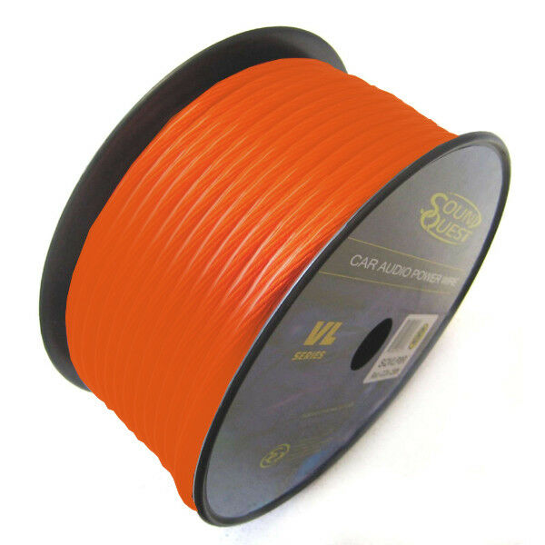 Sound Quest SQVLP18OR Sq 18 Ga Orange Primary Cca Car Audio Parts & Accessories