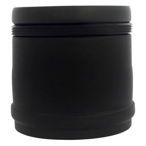 Pellet Kaminanschlussstück Ø 80 mm Schwarz Wandanschluss Kamin Pelletrohr Rohr