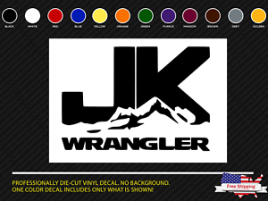 JK mountain Jeep decal wrangler sticker offroad rubicon unlimited 2
