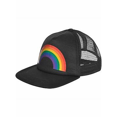 Pride Rainbow Baseball Hat Festival Parade Party Fancy Dress Accessories