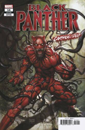 Black Panther #14 Carnage-ized Variant STOCK PHOTO Marvel Preorder 07//31//2019