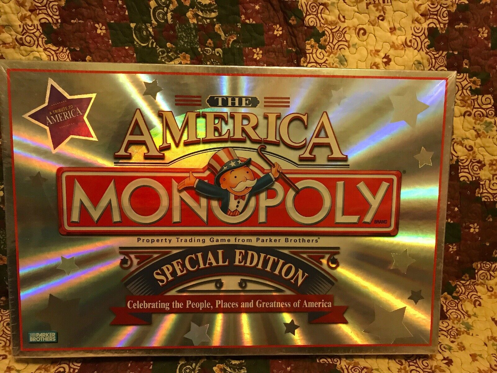 Monopoly America Special Edition Parker Bredhers - Brand New