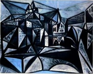 PICASSO-1955-LITHO-PRINT-w-COA-UNIQUE-COLLECTABLE-Pablo-Picasso-Notre-Dame-ART