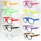 Clear Lens Nerd Geek Hipster Glasses Fancy Dress Novelty Party Fashion Festival