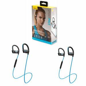 Jabra Sport Pace Wireless Sport Headphones Superior Sound Blue Ebay