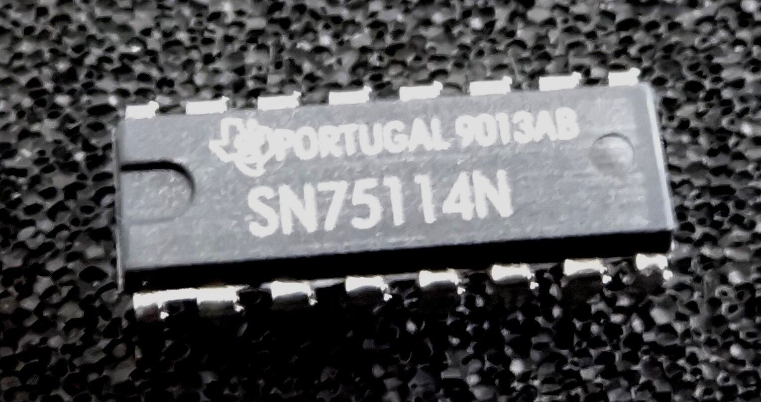 SN75114N DUAL DIFFERENTIAL LINE DRIVERS 75114 IC 1 pcs