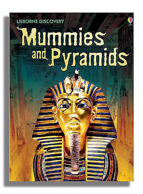 """AS NEW"" Sam Taplin, Mummies and Pyramids (Usborne Discovery), Book"