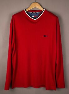 TOMMY-HILFIGER-Men-Casual-Knit-Jumper-Sweater-Size-L-ATZ1090