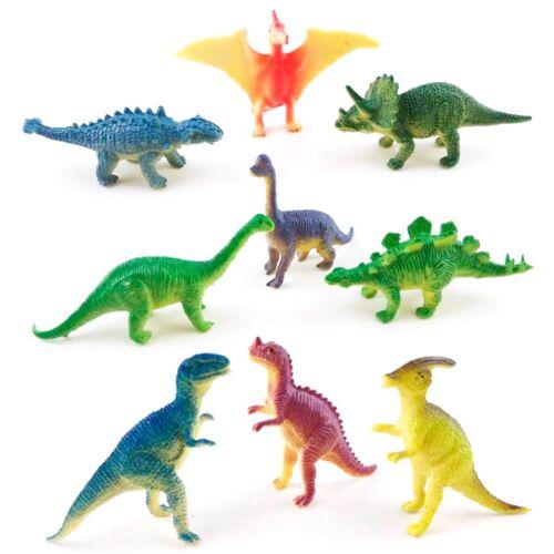12pcs Dinosaur Toys Kids Favor Dinosaur Model Baby Shower Party Table Decoration