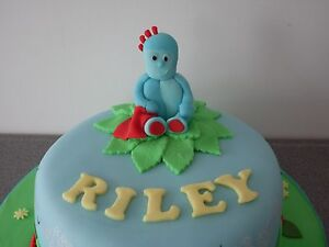 Handmade Edible In the Night Garden, Iggle Piggle Cake ...