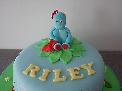 Awe Inspiring Handmade Edible In The Night Garden Iggle Piggle Cake Topper Funny Birthday Cards Online Overcheapnameinfo