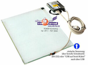 """15in 15 """" Touchscreen Elo 244791-000 CTR-231000 On Very Solid Glass Plate"""
