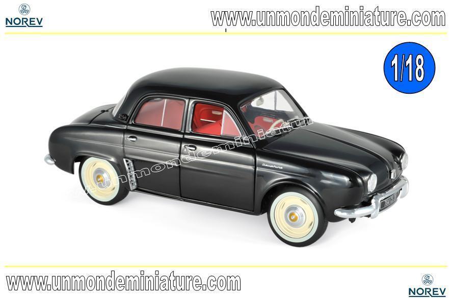 Renault Dauphine 1958 nero  NOREV - 185169 - Echelle 1 18