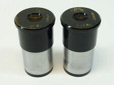 Pair Of Zeiss Kpl 8x Microscope Eyepiece Clean Optics