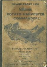 GRIMME POTATO HARVESTER COMMANDER II PARTS MANUAL - GTC5C **ORIGINAL**
