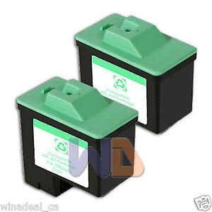 2-COLOR-Lexmark-Ink-Cartridge-26-High-Capacity-LEXMARK-26-10N0026-Reman-26