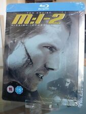 Blu ray steelbook Mission Impossible 2 U.K New & Sealed neuf avec VF