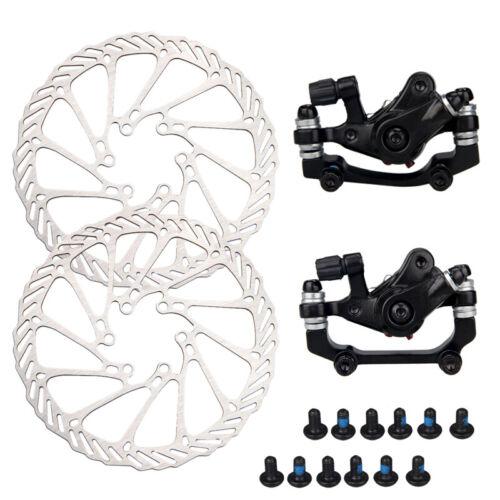 Mechanical Disc Brake Bike Front//Rear Caliper 160mm Rotor For Mountain Bicycle