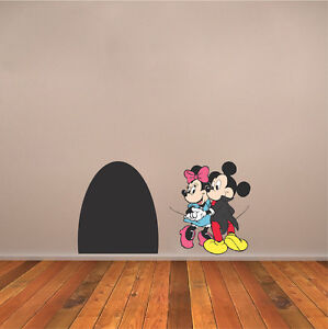 Image Is Loading Mickey Mouse Wall Decal Minnie Mouse Wall Design