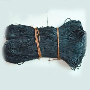 1 5mm Waxed Cotton Braided Cord Wax Linen Macrame Bead