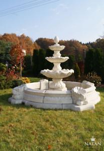 Fontaine-Vasca-Fontana-Decorata-a-Getto-Citta-Stagno-Scultura-Giardino