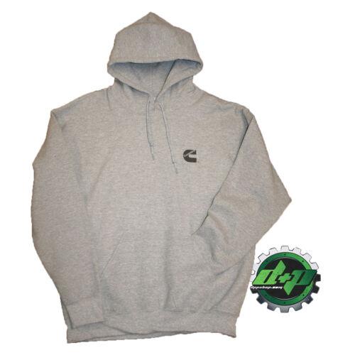 dodge cummins gray hoodie sweatshirt hooded long sleeve sweat shirt hood SMALL