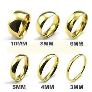 Xmas Men Women 316l Stainless Steel Wedding Ring Width 2mm 4mm 6mm