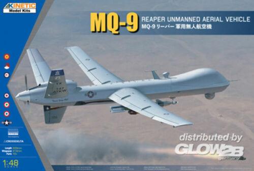 5348067 MQ-9 REAPER w//GBU-12 in 1:48 KINETIC