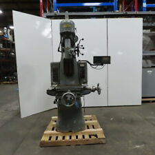 Moore Special Tool Model No 2 440v 2 Speed Jig Borer Machine 10 X 19 Table
