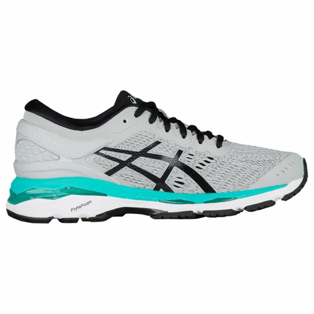 ASICS Gel Kayano 24 Women's Running Shoes Price reduction Grey / Black / Atlantis The latest discount shoes for men and women