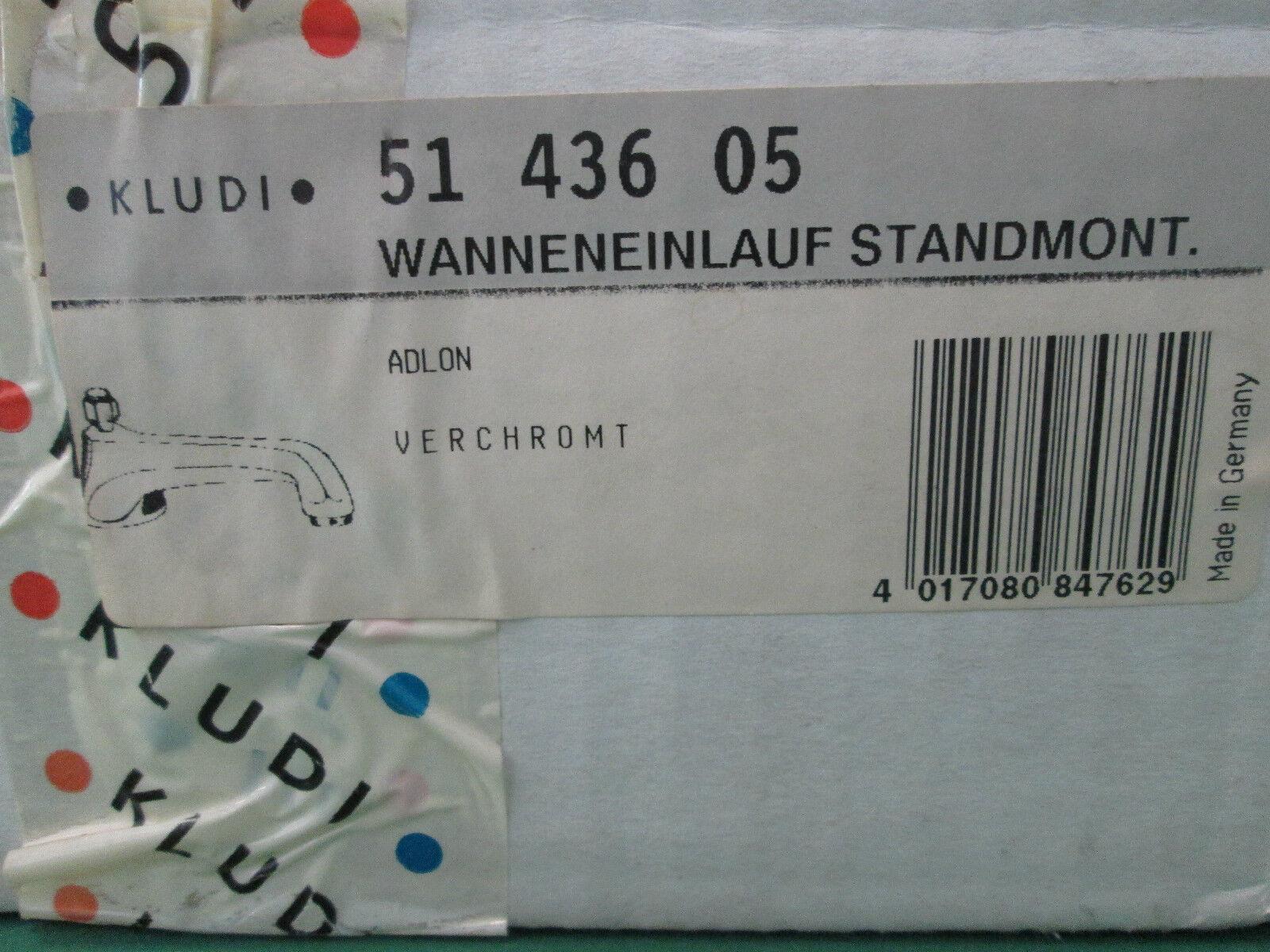 Kludi Adlon Wanneneinlauf Standmontage 5143605 verchromt
