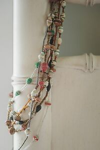 Handcrafted-Haitian-Artisan-Upcycled-Paper-Bead-Necklace-WAS-20-NOW-5