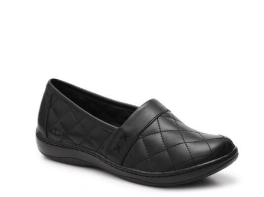 B.O.C. by Born Howell leather clogs quilted black sz 8.5 Med Med 8.5 NEW 7da409