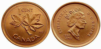Canada 1997 1 Cent Uncirculated KM289