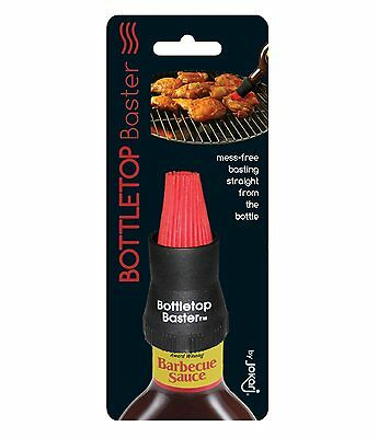 Jokari Silicone Bottletop Baster - BBQ / Marinade Bottle Top Basting Brush