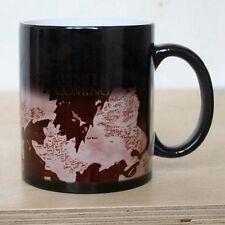 Game of Thrones Coffee Tea Mug Ceramic Mug Map Mug Color Changing Heat Sensitive