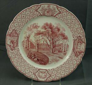 Royal-Cauldon-Phillips-Exeter-Academy-Wentworth-Amen-Gilley-Halls-Dinner-Plate